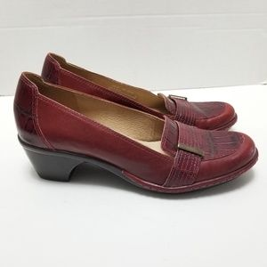 Clarks Artisan Collection Leather Shoes Size 7N